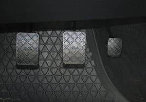 gas pedals in a car